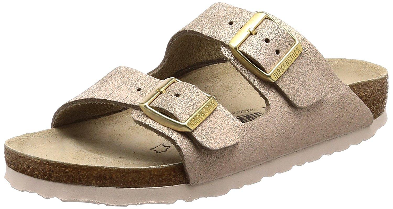 Sandali beige con punta aperta per donna Birkenstock Arizona aXfvEx