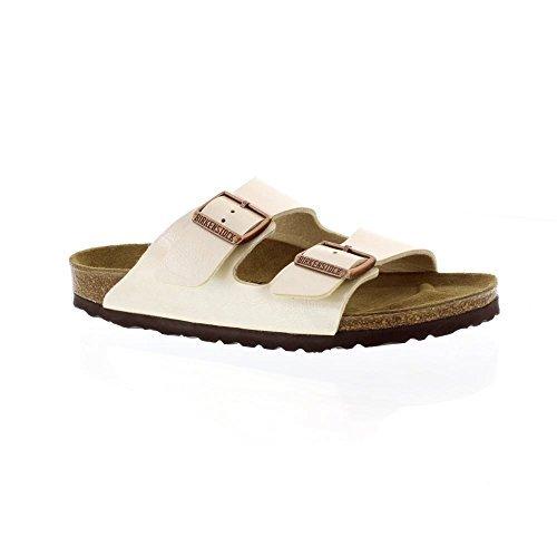 Sandali beige con punta aperta per donna Birkenstock Arizona m3qZ1Q