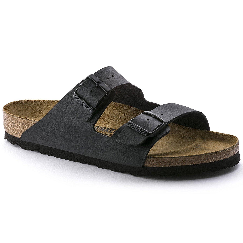 Sandali neri per unisex Birkenstock Arizona ITMW2A
